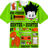 Gon X Freecss created by pretzelski | Print All Over Me