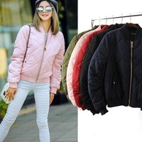 FW16 Sports Hot Deal On Sale Cotton Jacket Padded Winter Baseball [8511455815]