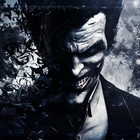 Batman Arkham Origins Silk Canvas Wall Poster Joker Gone Bats Video Game Boys Room decor 24x36inch 05 (Size: 60cm by 90cm)