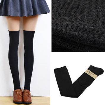 Thigh High School Girl Socks