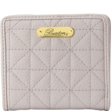 Buxton Double Diamond Quilt Medium Snap Billfold - eBags.com