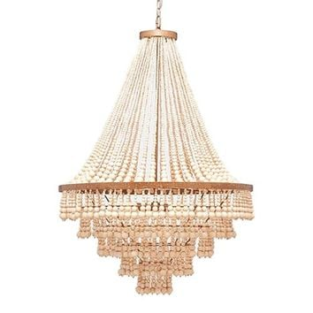 Made Goods Pia Chandelier - Gold | Candelabra, Inc.