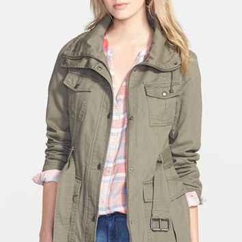 Women's GUESS Belted Utility Jacket,