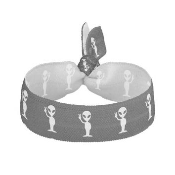Peace Alien Ribbon Hair Tie