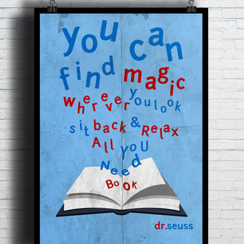 Magic Quotes Poster, (Instant Download) , 300 dpi, Popular Digital Art, Decoration, Poster