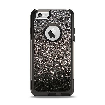 The Black Unfocused Sparkle Apple iPhone 6 Otterbox Commuter Case Skin Set