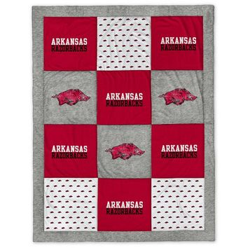 Collegiate Patchwork Blanket
