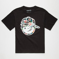 Neff Astro Kenny Boys T-Shirt Black  In Sizes