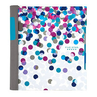 Five Star Advance Spiral Notebook, 2 Subject, College Ruled, 11 x 8.5 Inch, Dots Design (73141)
