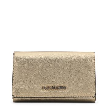 Love Moschino Yellow Wallet
