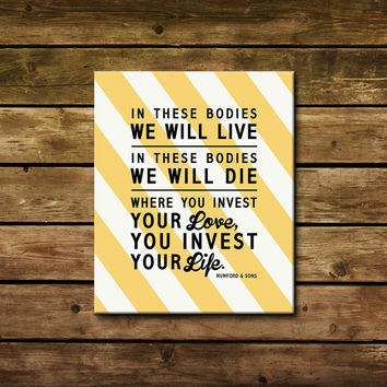 Best Canvas Art Lyrics Products on Wanelo
