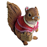 Park Avenue Collection Grandmother Squirrel Statue