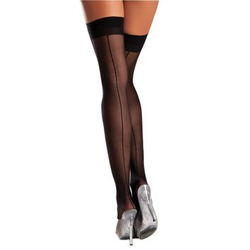 Be Wicked BW561 Sheer Backseam Stocking