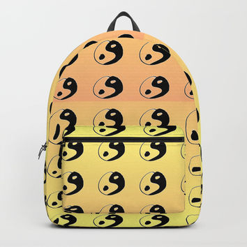 Yin and Yang 9 - Tao,Zen,Taoism,Dao,Harmony,religion,buddhism,buddhist,taijitu,taiji,taoist,china Backpack by oldking