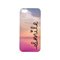 Smile Sea View Phone Case - iPhone 5/5S