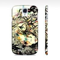Watercolor and ink - Art phone case - Samsung Galaxy S4 case - Galaxy phone case - Cell phone case - Phone cover - Hardcover