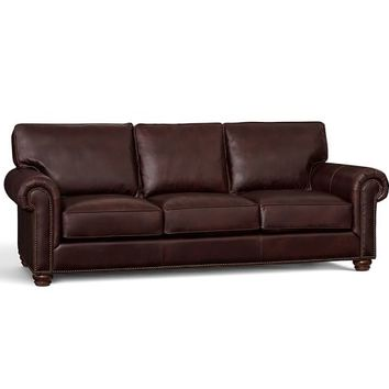 Webster Leather Sofa