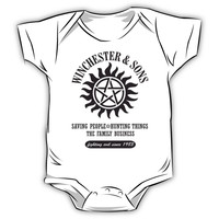 T-SHIRT SUPERNATURAL WINCHESTER & SONS