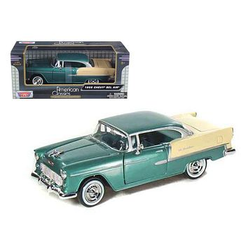 1955 Chevrolet Bel Air 1:24 Diecast Model Car by Motormax
