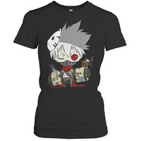 Naruto - Kakashi - Woman Short Sleeve T Shirt - SSID2016