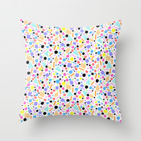 SUNNY DAY Throw Pillow by Isabella Salamone