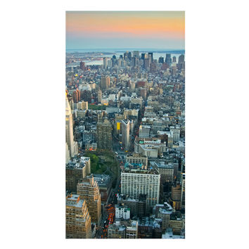 The Big Apple at Sunset Towel
