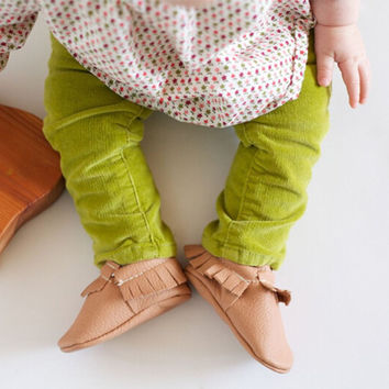 Baby Various Cute PU Leather Shoes Moccasin Tassels Toddler Infant Soft Sole Shoes 0-18M S01