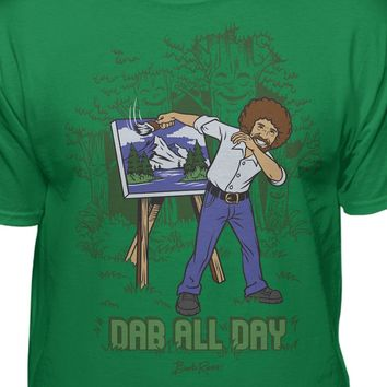 Bob Ross Official Artist Dab All Day T-Shirt