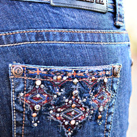 GRACE IN L.A. ROCKY MOUNTAIN BOOTCUT JEANS