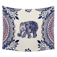 Elephant Mandala Tapestry // THE ELEPHANT