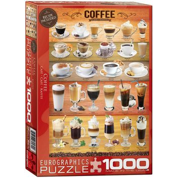 Coffee - 1000 Piece Jigsaw Puzzle