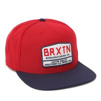 Brixton Axel Snapback Hat - Mens Backpack - Red - One