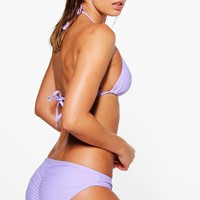 Crete Mix And Match Ruched Bum Brief | Boohoo