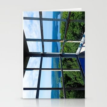 Kane Mountain Fire Tower Stationery Cards by Lindsey Jennings Photography