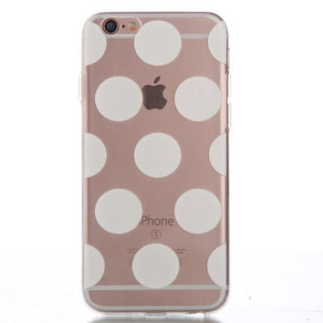 Womens Hollow Out Dots Case Cover for iPhone 5s 5se 6s Plus Free Gift Box 43