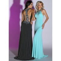 Sparkle 71456 Fitted Jeweled Dress
