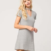 FULL TILT Stripe Choker T-Shirt Dress | Short Dresses