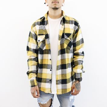 Ethan Flannel (Yellow)