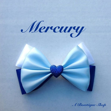 mercury hair bow