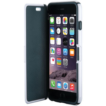 SPECK SPK-A4198 iPhone(R) 6 Plus/6s Plus CandyShell(R) Wrap Case (White/Charcoal Gray)