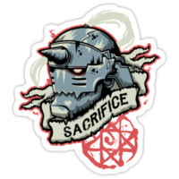 'Sacrifice' Sticker by AutoSave