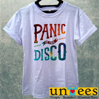 Galaxy Panic At The Disco Logo Women T Shirt