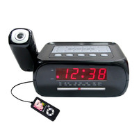 Supersonic Digital Projection Alarm Clock with AM-FM Radio