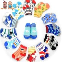 Free Shipping  12pair/lot  Baby Girls Boy Socks