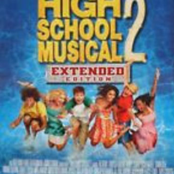 High School Musical 2 Extended Edition Movie Poster 27x40 Disney (2007) Used Zac Efron, Vanessa Hudgens, Ashley Tisdale
