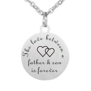Father/Son Love Forever Necklace