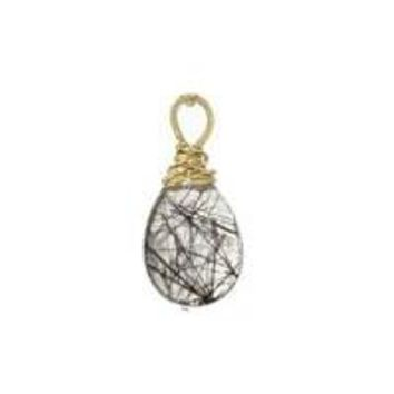 Rutilated Quartz - Silver