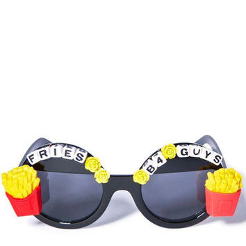 Fries Before Guys Sunglasses