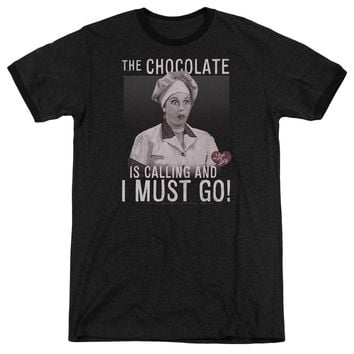 I Love Lucy - Chocolate Calling Adult Heather
