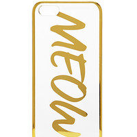 Metallic Meow Phone Case